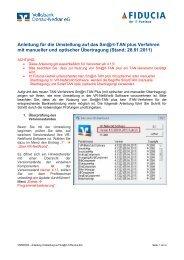 VR-NetWorld Software - Volksbank Ludwigsburg eG