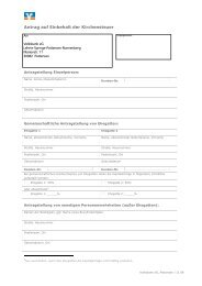 Antrag auf Einbehalt der Kirchensteuer (PDF) - Volksbank eG