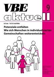 Potenziale entfalten Wie sich Menschen in ... - VBE Berlin