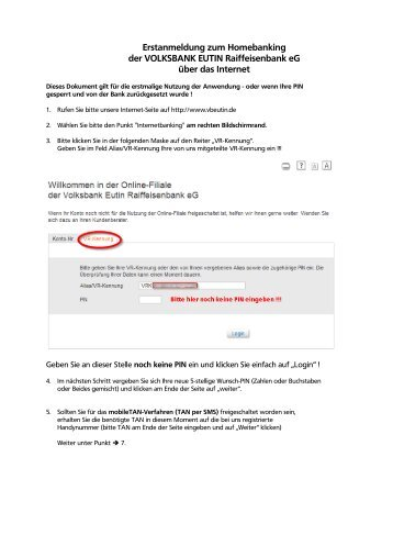 volksbank eutin online banking
