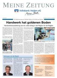 Ausgabe 12/2013 - Volksbank Heiden eG