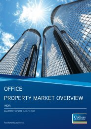 India Office Property Market Overview - Colliers International