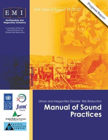 Manual of Sound Practices - EMI
