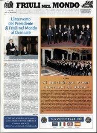 Friuli nel Mondo n. 535 aprile 1999 - Ente Friuli nel Mondo