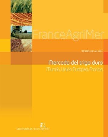Mercado del trigo duro - FranceAgriMer