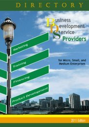 Directory of Business Development Services (BDS) - DTI