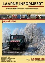 infoblad januari 2010 - Gemeente Laarne