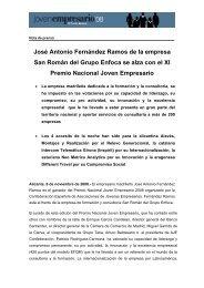 José Antonio Fernández Ramos de la empresa San ... - Jovempa