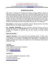 Output file - SVP Laser Technologies Pvt. Ltd.