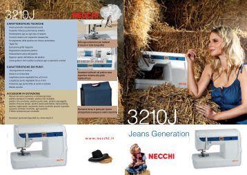 Scheda_Prodotto_Necchi_3210J.pdf - Macchine da cucire vendita ...