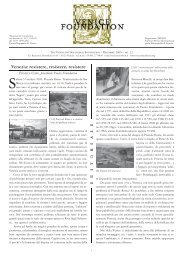 NEWS N. 22 - The Venice International Foundation