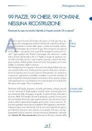 99 piazze, 99 chiese, 99 fontane, nessuna ... - Volontariato Lazio