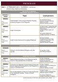 NIH 2013 Program - University of the Philippines Manila - Page 4