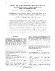 Titanium Diboride Thin Films by Low-Temperature Chemical Vapor ...