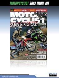 MOTORCYCLIST 2013 MEDIA KIT - source interlink media