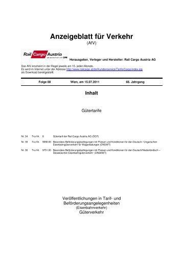 AfV 15_07 2011 - Rail Cargo Austria