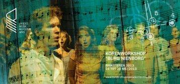 """KORENWORKSHOP """"BURG NIENBORG"""" - Klaas Stok"""