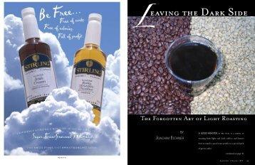 LeAVIng tHe dArK sIde - Roast Magazine