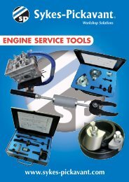 Engine service tools - Saracen Distribution