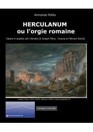 HERCULANUM ou l'orgie romaine - Vesuvioweb
