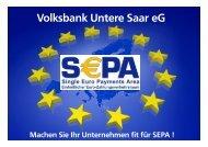 Präsentation - Volksbank Untere Saar eG