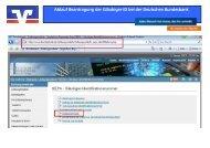 Ablauf Beantragung der Gläubiger-ID bei der Deutschen Bundesbank