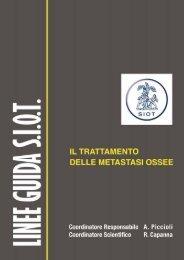 Linea guida S.I.O.T. - Il trattamento delle metastasi ossee - Ciosm.it