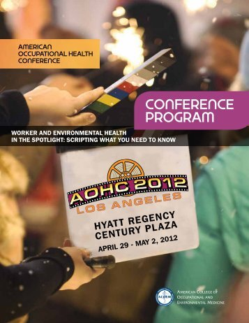 conference program - American College of Occupational and ...