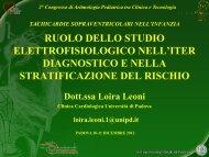 Loira Leoni - Aritmologia pediatrica tra clinica e tecnologia