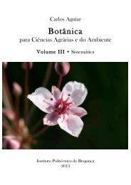 Botânica - Biblioteca Digital do IPB - Instituto Politécnico de Bragança