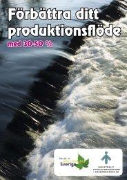 Titta på broschyren: Förbättra ditt produktionsflöde