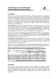 Merkblatt zum Strahlenschutz bei der Radiosynoviorthese - DGMP