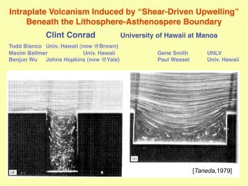 Shear-Driven Upwelling - EarthScope