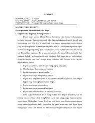 Proses produksi dalam Suatu Usaha Boga MATER - File UPI