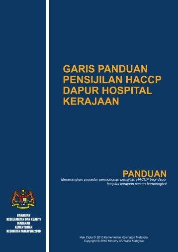 GP-HACCP Dapur Hospital.pdf - Kementerian Kesihatan Malaysia