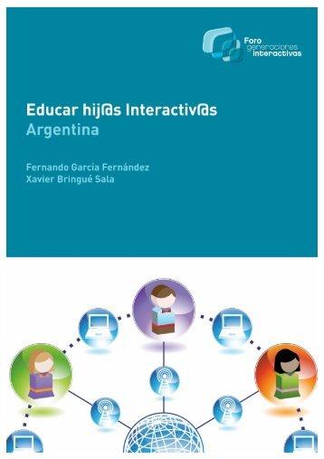 educar hijos interactivos_Argentina - Foro Generaciones Interactivas
