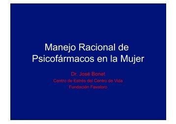 Manejo Racional de Psicofármacos en la Mujer - IGBA