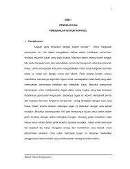 1. PENGANTAR SISTEM KONTROL - Blog Irwan Kurniawan
