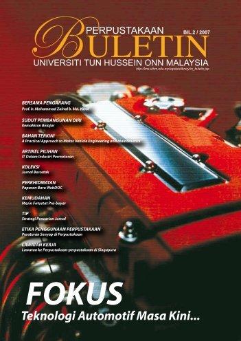 Fokus - UTHM Library