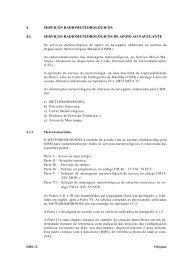 4 SERVIÇOS RADIOMETEOROLÓGICOS 4.1 ... - Marinha do Brasil