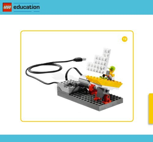 Bauanleitung - Lego WeDo - Schiff - myRobotcenter
