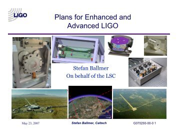 e - LIGO - Caltech