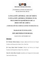 CANULACIÓN ARTERIAL AXILAR VERSUS ... - Recercat