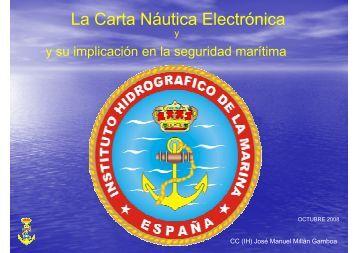 La Carta Náutica Electrónica - Pladesemapesga