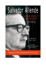 Higiene Mental y Delincuencia (1933) - Salvador Allende