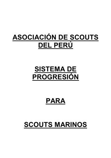 sistema de progresión para scouts marinos - Scouts del Perú