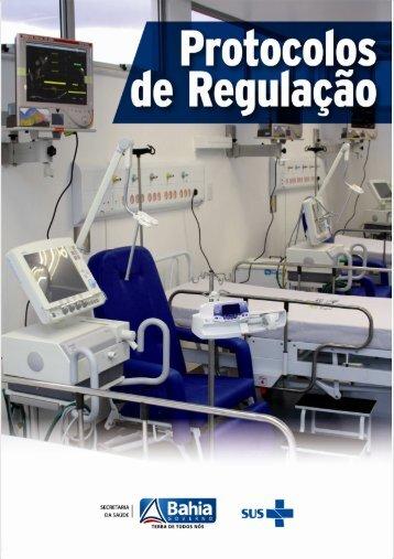 PROTOCOLOS DE REGULAÇÃO - Sesab