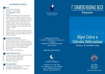 1° CONGRESSO REGIONALE SICCR