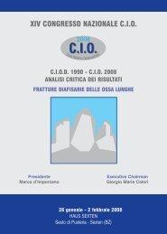 ciod 1990 - cio 2008 analisi critica dei risultati - SIOT