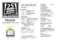 Einladung Heidetreffen 2011 mit Wegbeschreibung - VC-Celle